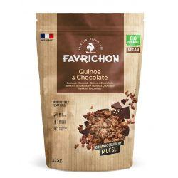 FAVRICHON CRUNCHY MUESLI QUINOA Y CHOCOLATE 325 GR