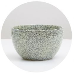 BIOTONA MATCHA BOWL GREY & GREEN