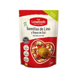 LINWOODS SEMILLAS DE LINO Y BAYAS DE GOJI MOLIDAS BIO 200 GR