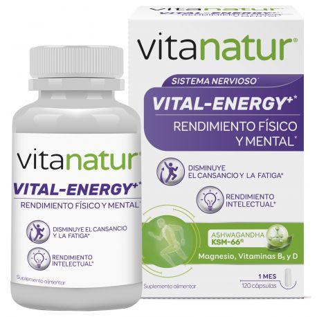 VITANATUR VITAL-ENERGY 120 CAPS