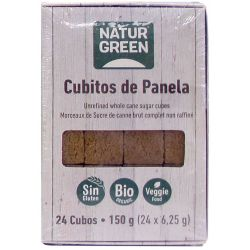 NATURGREEN CUBITOS DE PANELA BIO 150 G