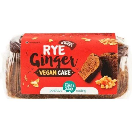 VEGAN CAKE CENTENO Y JENGIBRE 350 GR