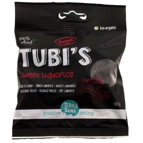 REGALIZ DULCE - TUBI'S 100G
