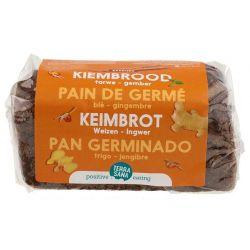 PAN GERMINADO DE TRIGO & JENGIBRE 400G
