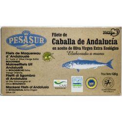 PESASUR FILETES DE CABALLA DE ANDALUCIA (LATA) 120 GR