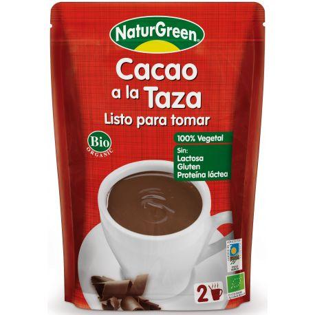 NATURGREEN CHOCOLATE LA TAZA LISTO PARA TOMAR BIO 330 ML