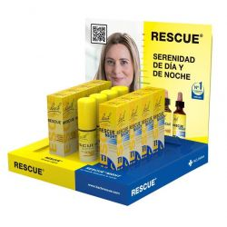 BACH RESCUE PACK EXPO SOBREMESA 20 ML: 4 NIGH, 4 SPRAY, 3+1 20 ML
