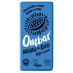 OMBAR CHOCOLATE CON CREMA DE COCO CRUDO BIO 35 G