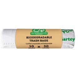 SMART CYCLE BOLSA BASURA BIODEGRADABLE COMPOSTABLE 30 L-10PCS