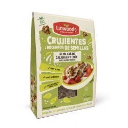 LINWOODS SEMILLAS CRUJIENTES DE CALABAZA Y CHIA 200 GR