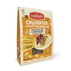 LINWOODS SEMILLAS CRUJIENTES DE LINO CON FRUTOS SECOS 200 GR