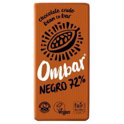 OMBAR CHOCOLATE NEGRO 72% BIO 70 G