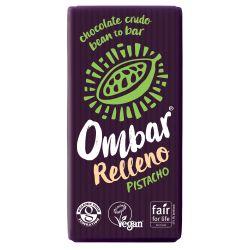 OMBAR Chocolate relleno de Pistacho Bio 35 g