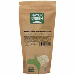 NaturGreen Arroz Jazmin Integral  Bio 500 g