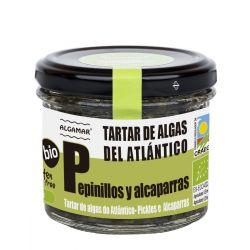 ALGAMAR TARTAR DE ALGAS DEL ATLANTICO PEPINILLOS Y ALCAPARRAS 100 G